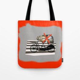 NO RABBITS ON TANDEM BICYCLE Tote Bag