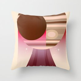 Europa Clipper Space Art poster. Throw Pillow
