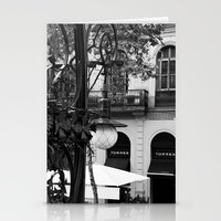 barcelona Stationery Cards featuring Barcelona by Francesca Vincis