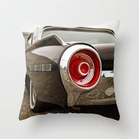 ford Throw Pillows featuring Ford Americana by Vorona Photography
