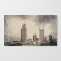 alabama Canvas Prints featuring Mobile, Alabama by Judith Lee Folde Photography & Art