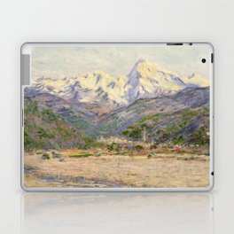Claude Monet - The Valley of the Nervia (1884) Laptop & iPad Skin