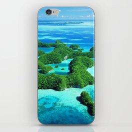 Palau Island Paradise iPhone Skin