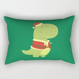 SanT-Rex Rectangular Pillow