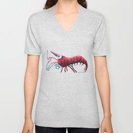 Angelina the Cardinal Shrimp Unisex V-Neck