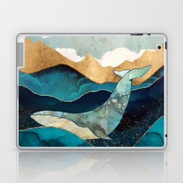 Blue Whale Laptop & iPad Skin