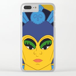 Evil Lyn Clear iPhone Case