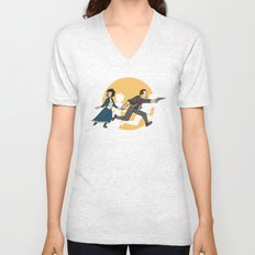 TinTinfinite Unisex V-Neck