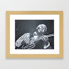 B.B. King Framed Art Print