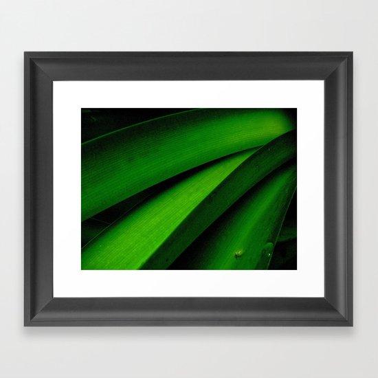 Greener than Green Framed Art Print