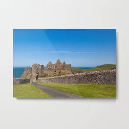Dunluce Castle Northern Ireland Metal Print