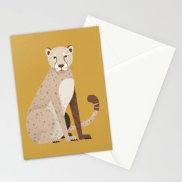 Whimsy Cheetah Stationery Cards