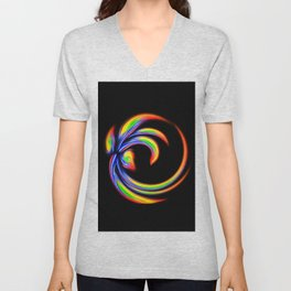 Abstract Perfection 27 Unisex V-Neck