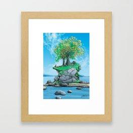 Island Hole #1 Framed Art Print