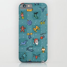 Whimsy Christmas iPhone Case