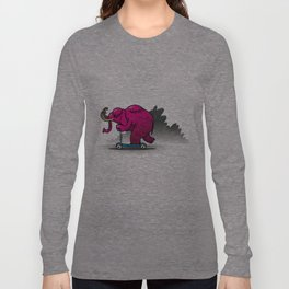mamouth rose Long Sleeve T-shirt