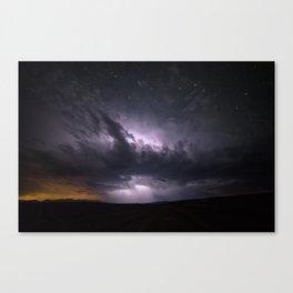 Dark Tempest Canvas Print