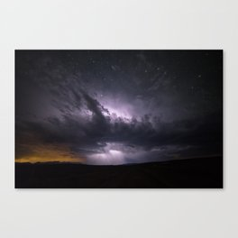 Dark Tempest Canvas Print