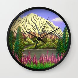 Majesty of the North Wall Clock