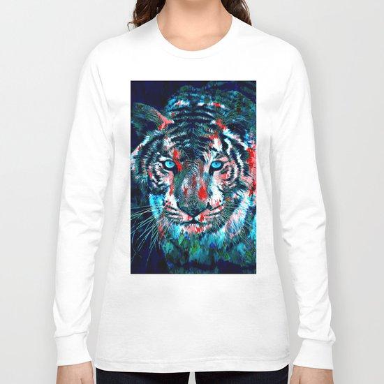 Artistic Tiger Long Sleeve T-shirt