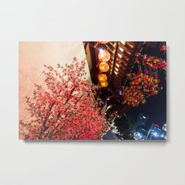 Nature in asian street Metal Print