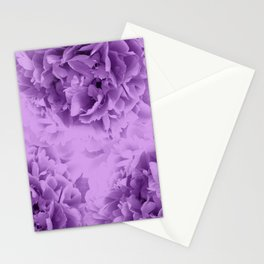 Purple Peonies Dream #1 #floral #decor #art #society6 Stationery Cards