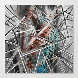 Broken pieces Canvas Print