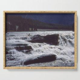 Athabasca Falls 2 Serving Tray