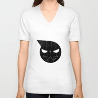 soul eater V-neck T-shirts featuring soul eater by skymerol