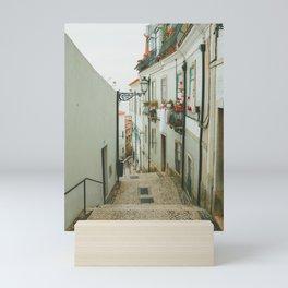 Lisboa Streets Mini Art Print