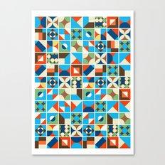 Nirmana Pattern Canvas Print