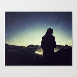 MOUNTAIN TREKKER Canvas Print