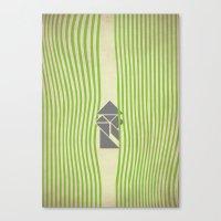 samurai Canvas Prints featuring SAMURAI by Ociaj