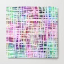 Colorful striped DP034-3 Metal Print