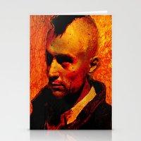 robert farkas Stationery Cards featuring ROBERT D. by Joe Ganech