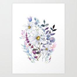 Wildflowers V Art Print