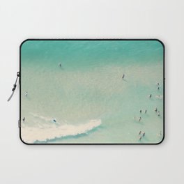 beach summer waves Laptop Sleeve