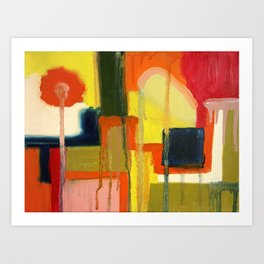 City in the Sun Art Print