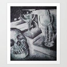 Skull and... Art Print