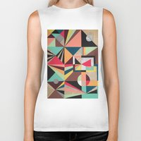 prism Biker Tanks featuring Prism by Kerry Lacy