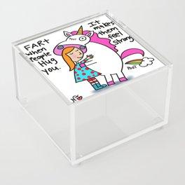 Unicorn Farts Acrylic Box