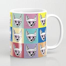 geek cool cat Coffee Mug