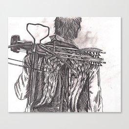 Daryl Dixon Canvas Print