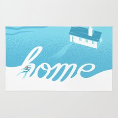 Home is everywhere Rug