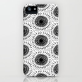 Abstract kern iPhone Case