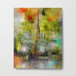 Notre-Dame de Paris  Metal Print