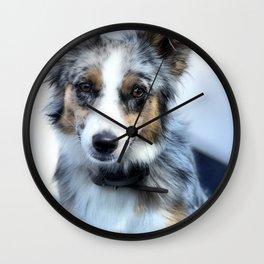 bEbE bLU Wall Clock