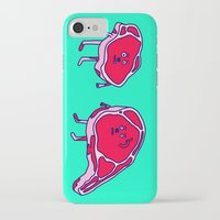 meat iPhone & iPod Cases featuring Meat meet Meat by didu didu