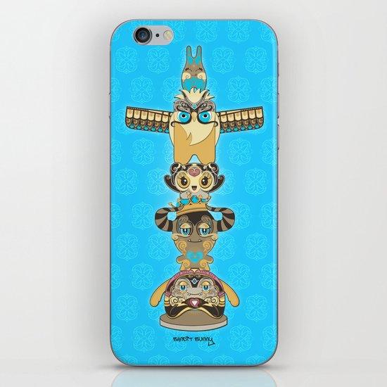 RUFUS TOTEM iPhone & iPod Skin