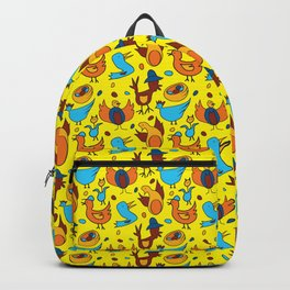 Crazy Birds Backpack